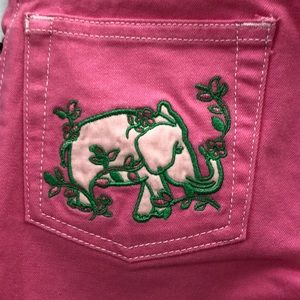 Lilly Pulitzer Mini jeans in hotty pink size 7